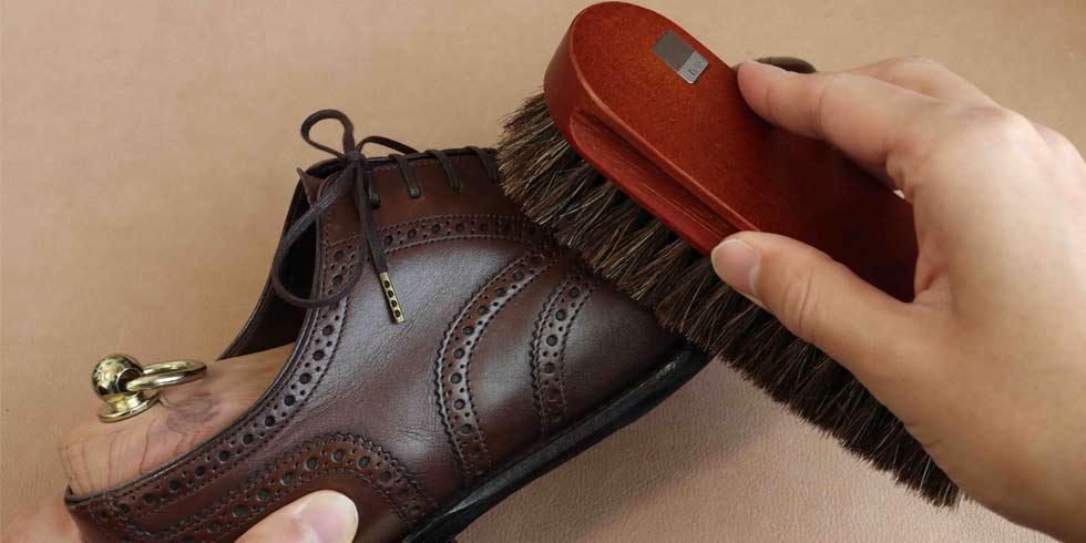 革靴の手入れ方法